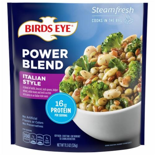 Birds Eye Steamfresh Protein Blend Italian Style Vegetables Perspective: front