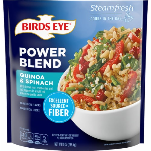 Birds Eye Steamfresh Quinoa & Spinach Power Blend Perspective: front
