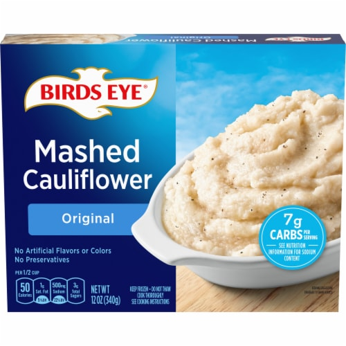 Birds Eye Veggie Made Original Mashed Cauliflower 12 Oz Kroger