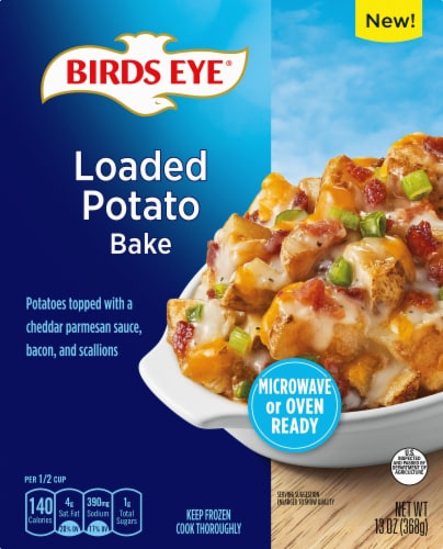 Birds Eye Loaded Potato Bake Frozen Side Dish Perspective: front