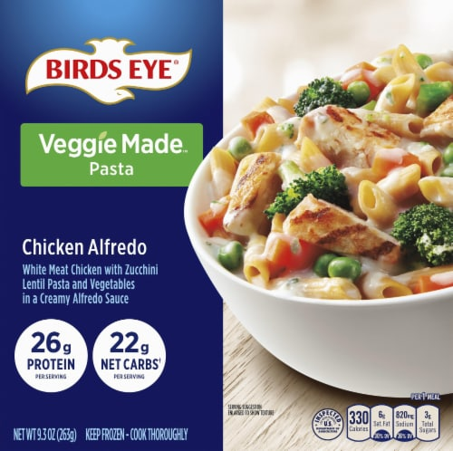 Birds Eye Chicken Alfredo Bowl Frozen Meal Perspective: front