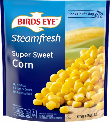 Birds Eye Steamfresh Selects Super Sweet Corn Perspective: front