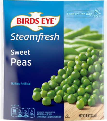 Birds Eye Steamfresh Selects Sweet Peas Perspective: front
