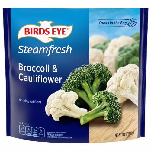 Birds Eye Steamfresh Broccoli & Cauliflower Perspective: front