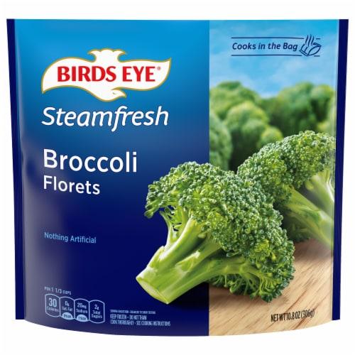 Birds Eye Steamfresh Broccoli Florets Perspective: front