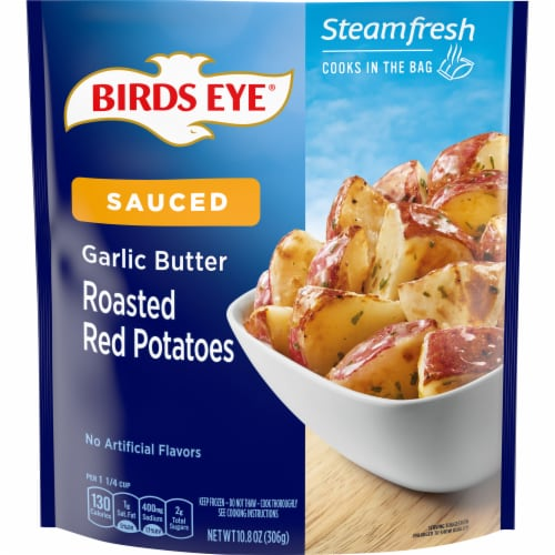 Birds Eye Steamfresh Chef's Favorites Roasted Red Potato In Garlic Sauce Perspective: front