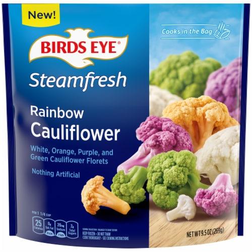 Birds Eye Steamfresh Rainbow Frozen Cauliflower Frozen Perspective: front