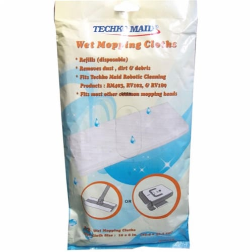 TECHKO KOBOT RM012 Wet Replacement Cleaning Sheets Perspective: front