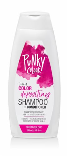 Ardell Punky Colour Pinktabulous 3 in 1 Color Depositing Shampoo & Conditioner Perspective: front