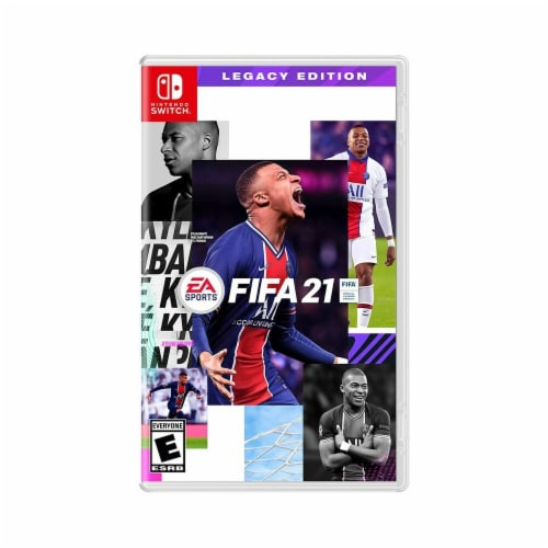 Electronic Arts 37625 FIFA 21 Nintendo Switch Legacy Edition Video Game Perspective: front