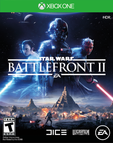 Star Wars: Battlefront II (Xbox One) Perspective: front