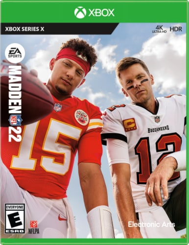 Madden NFL 22 (XBox) Perspective: front