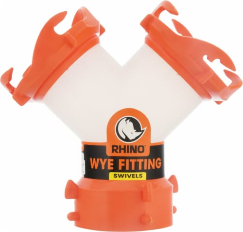 Camco Rhinoflex WYE Fitting Perspective: front