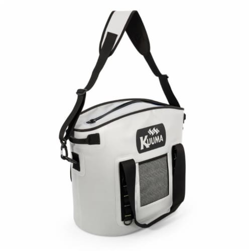 Kuuma Products 58359 33 qt Soft-Sided Cooler with Sealing Zipper - Waterproof Coated Nylon Perspective: front