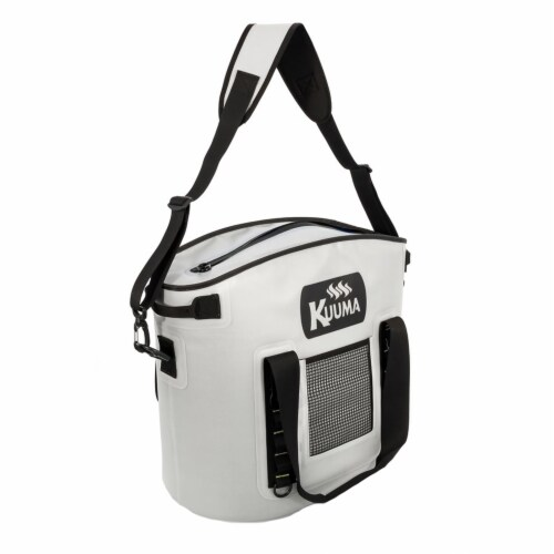 Kuuma Products 58372 22 qt Soft-Sided Cooler with Sealing Zipper - Waterproof Coated Nylon Perspective: front