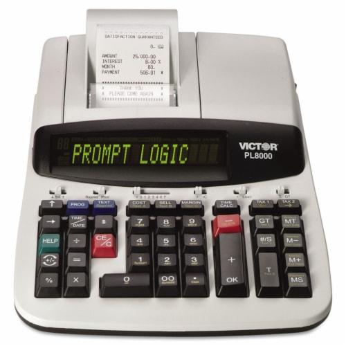 Victor Calculator,14dght Prnt,We PL8000 Perspective: front
