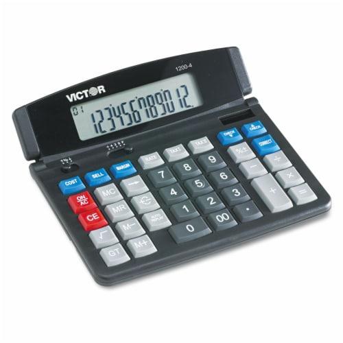 Victor Calculator,Desktop,12 Digits  1200-4 Perspective: front
