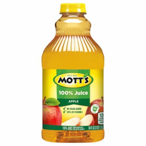 Mott's 100% Original Apple Juice Beverage Perspective: front