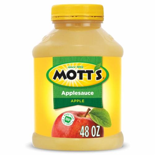 Mott's Applesauce Jar Perspective: front