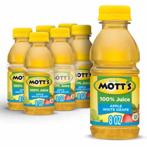 Mott's 100% Apple White Grape Juice Perspective: front