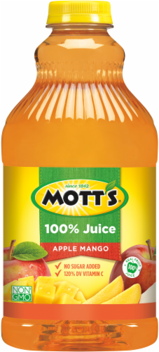 Mott's 100% Apple Mango Juice Perspective: front