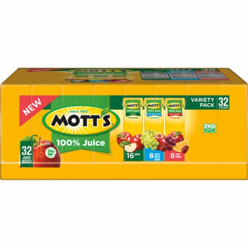 Mott's Apple Juice Variety Pack Perspective: front