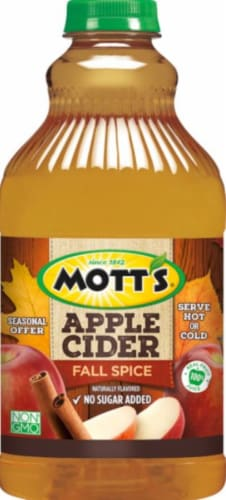 Mott's Fall Spice Apple Cider Perspective: front