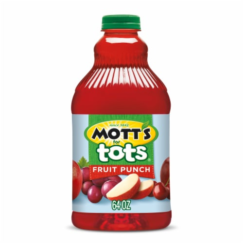 Mott's for Tots Fruit Punch Perspective: front