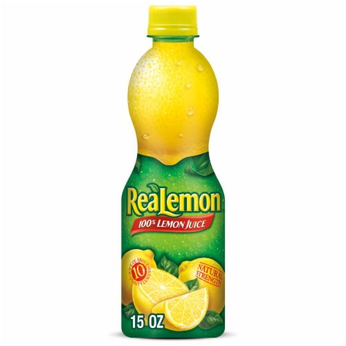 ReaLemon 100% Lemon Juice Perspective: front