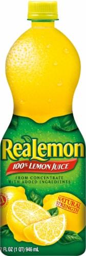 ReaLemon 100% Lemon Juice Perspective: front