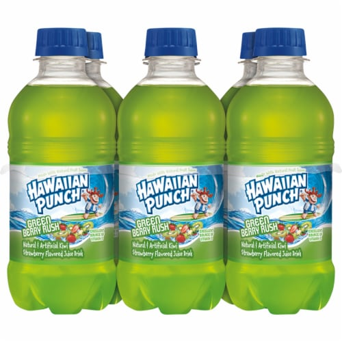 Hawaiian Punch Green Berry Rush Juice Perspective: front
