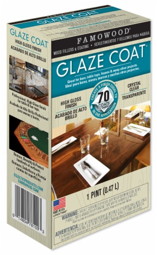 Famowood Glaze Coat High Gloss Finish - Clear Perspective: front