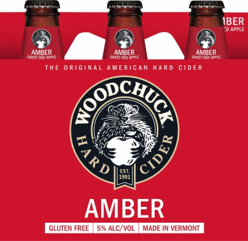 Woodchuck Hard Cider Perspective: front