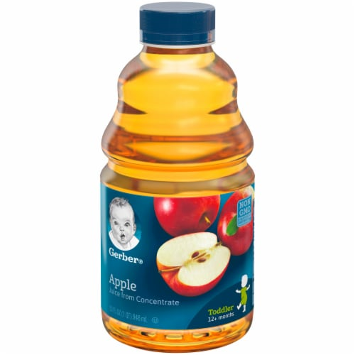 Gerber Toddler Apple Juice Perspective: front