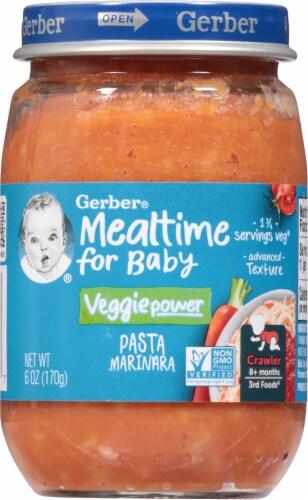 Gerber 3rd Foods Pasta Marinara Baby Food Perspective: front