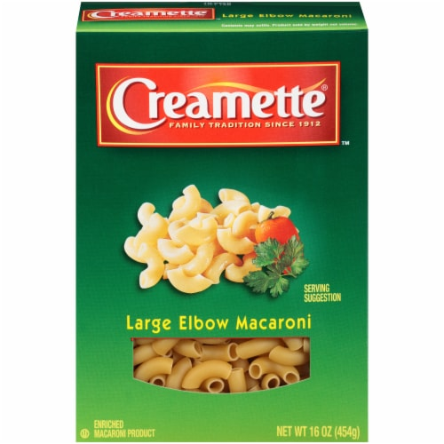 Creamette Large Elbow Macaroni Perspective: front
