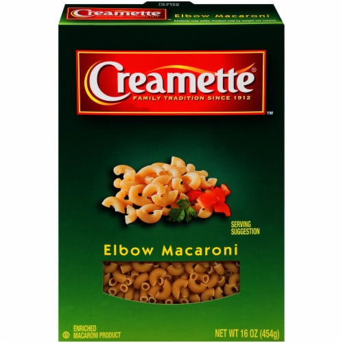 Creamette Elbow Macaroni Perspective: front