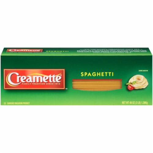 Creamette Spaghetti Perspective: front
