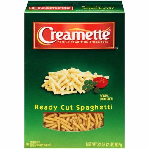 Creamette Ready Cut Spaghetti Perspective: front