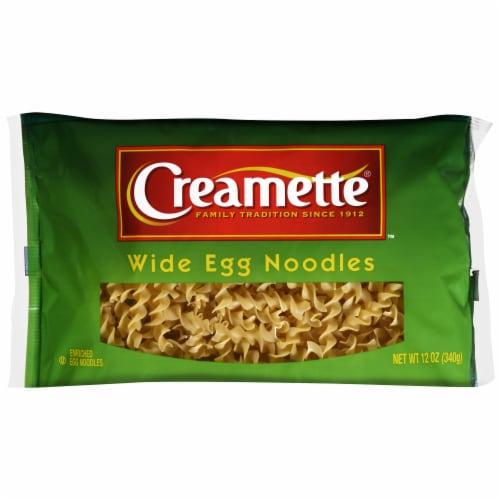 Creamette Wide Egg Noodles Pasta Perspective: front