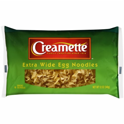 Creamette Extra Wide Egg Noodles Perspective: front