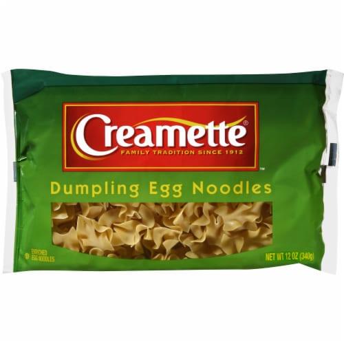 Creamette Dumpling Egg Noodles Pasta Perspective: front