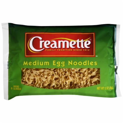 Creamette Medium Egg Noodles Perspective: front
