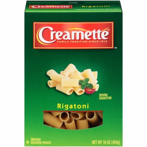 Creamette Rigatoni Pasta Perspective: front