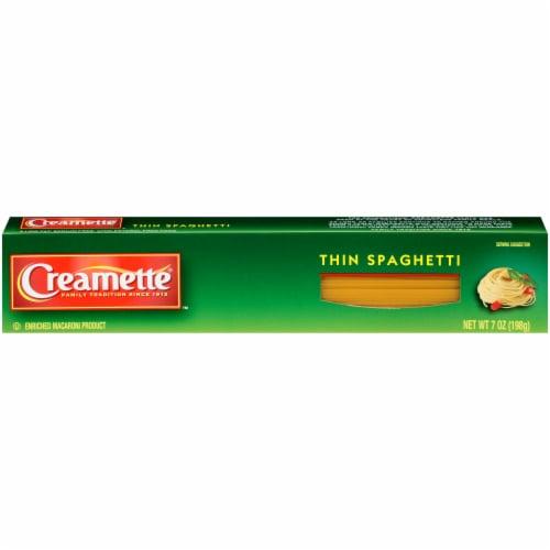Creamette Thin Spaghetti Perspective: front