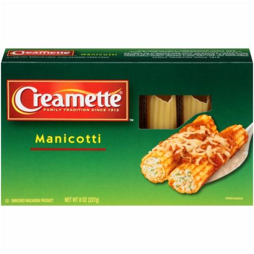 Creamette Manicotti Pasta Perspective: front