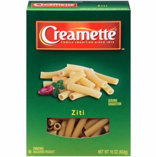 Creamette Ziti Pasta Perspective: front