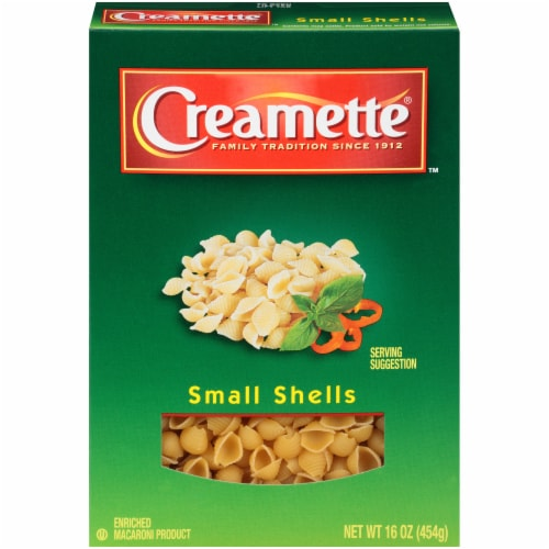 Creamette Small Shells Pasta Perspective: front