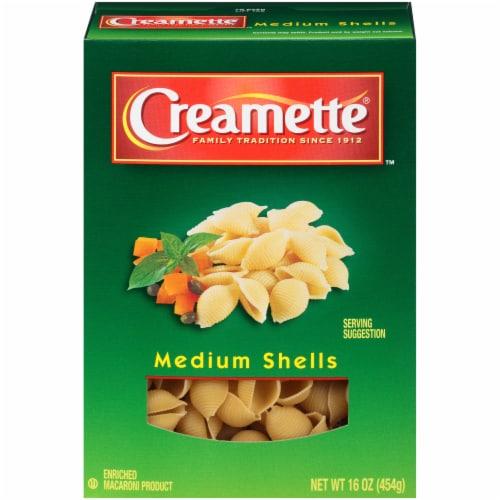 Creamette Medium Shells Pasta Perspective: front