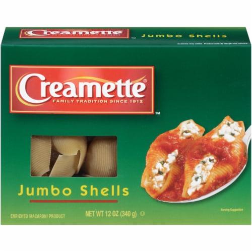Creamette Jumbo Shells Pasta Perspective: front